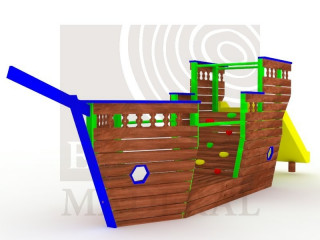 Barco pirata pequeño