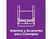 Asientos y accesorios para Columpios