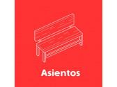 Escaños, bancas y asientos
