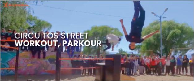 Circuitos street Parkour