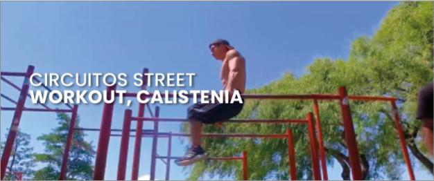 Circuitos street calistenia