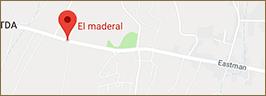 Mapa El Maderal