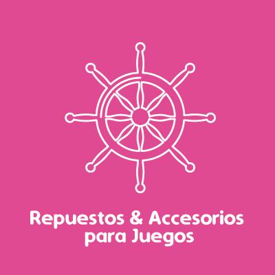Repuestos y accesorios para juegos